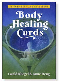 Body Healing Cards – a card deck with 56 full-color cards and a 128-page booklet (ISBN 9781644112557) - Ewald Kliegel (text) - Anne Heng (illustrations) - Findhorn Press at INNER TRADITIONS